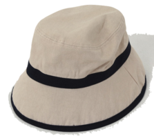 Mild color bucket hat