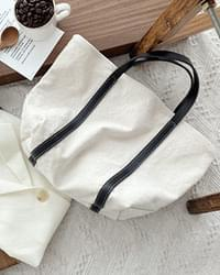 Roman tote and shoulder cotton bag