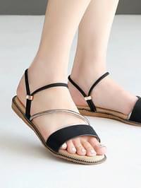 Garile 2 way sandals 1 cm