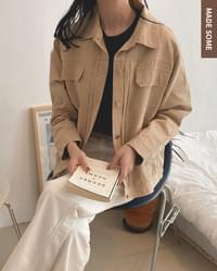 Special offer) cappuccino double chin cotton jacket