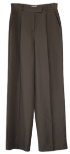 clean standard fit slacks pants