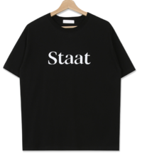 Staatロゴ半袖Tシャツ