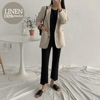 Cu and Linen Jacket
