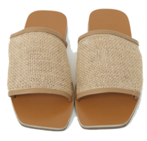 Mesh Strap Square Slipper 涼鞋