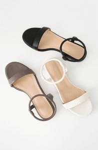 Ankle banding strap sandals