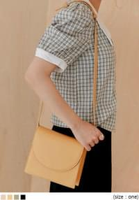 PABLO LEATHER SQUARE BAG