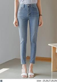 BASEL DAMAGE DENIM SKINNY
