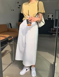 Hayes Banding Long Skirt