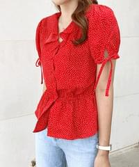 Chichi dot blouse