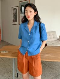 Ivy linen short sleeve jacket jacket