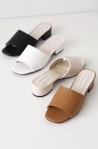 Simple Line Middle Mule