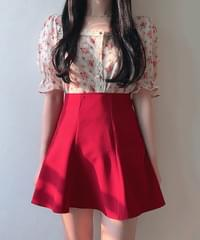 Home-made ♥ Fit Pretty Mini Flare Skirt