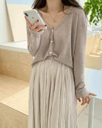 Soso Jelly Fit Linen Cardigan