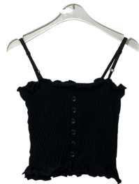 Crop-Aid Knit Bustier
