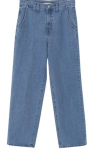 Classic Blue Wide Denim Pants