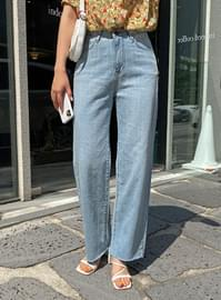 Wide summer pants