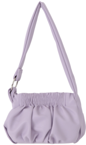 Vanilla Shirring Mini Shoulder Bag