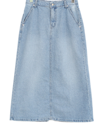 Nature denim skirt