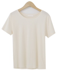 Eco Basic Round Short Sleeve Tee