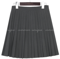 Knife Pleated Mini Skirt