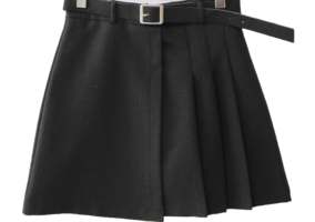 Louis pleated skirt