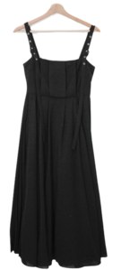 Pleated Lily Bustier Long Dress
