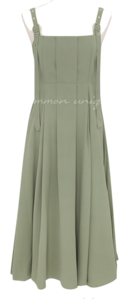 ELOV PLEATS OVERALL LONG OPS