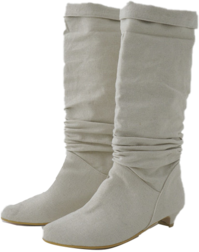 canvas crease boots