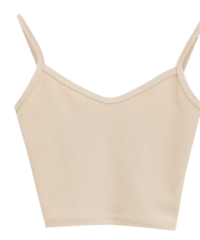 Plain crop sleeve