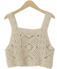 Rambus Crochet Top タンクトップ