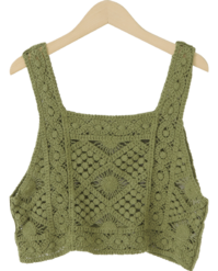 Rambus Crochet Top