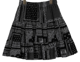 Bandana Sure Flare Skirt