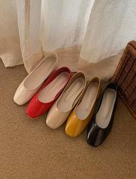 Candy round flat shoes