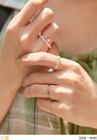 5 sets of Lovin layered rings