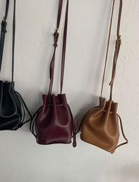 Randy leather cooking bag