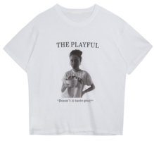 THE PLAYFUL Print T-Shirt 短袖上衣