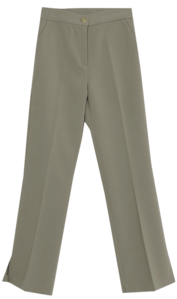 Martini Slit Wide Long Slacks