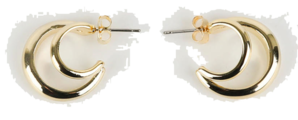 Two line earrings
