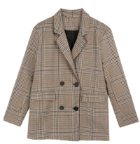 Two Button Check Jacket