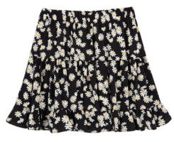 Floral Pleated Mini Skort