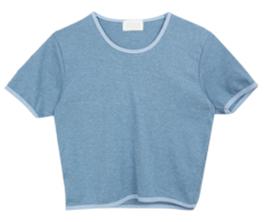 Point neck t-shirt