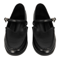 Nuggable strap loafers