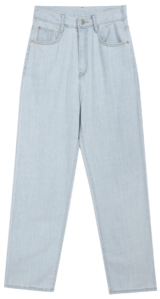 3136 summer denim pants