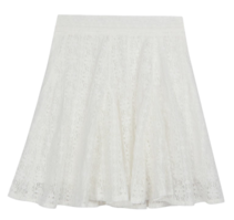 Lace-hul banding skirt