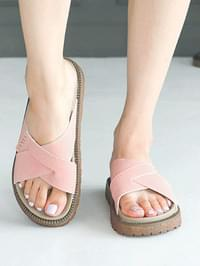 Setirun Thick sole slippers 4cm