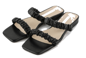 Divers Wrinkle Strap Flat Sandals サンダル