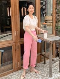 Candy Cotton Date Pants