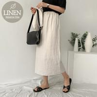Coren linen skirt piece