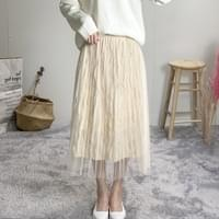 Chloe lace long skirt
