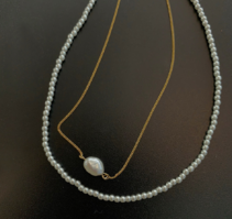 Layered pearl necklace 項鍊